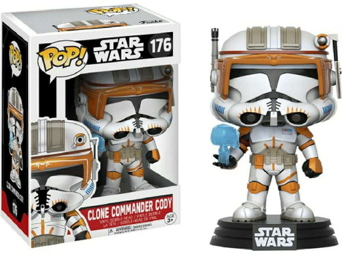 Funko POP! Star Wars Clone Commander Cody Exclusive Vinyl Bobble Head