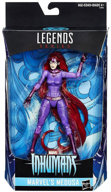 Inhumans Marvel Legends Medusa Exclusive Action Figure