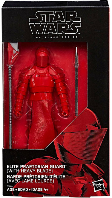 Star Wars The Last Jedi Black Series Elite Praetorian Guard Exclusive Action Figure [with Heavy Blade]