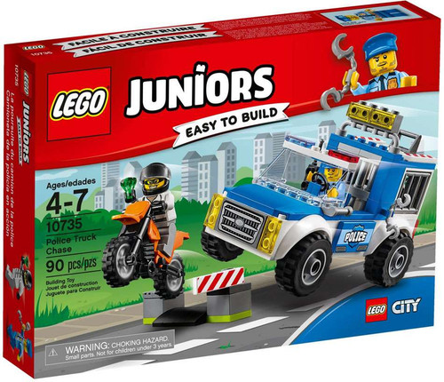 LEGO Juniors Police Truck Chase Set #10735 [Damaged Package]