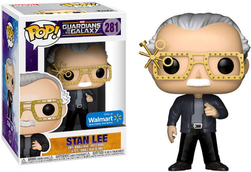 Funko Guardians of the Galaxy POP! Marvel Stan Lee Exclusive Vinyl Bobble Head #281 [with Futuristic Glasses]