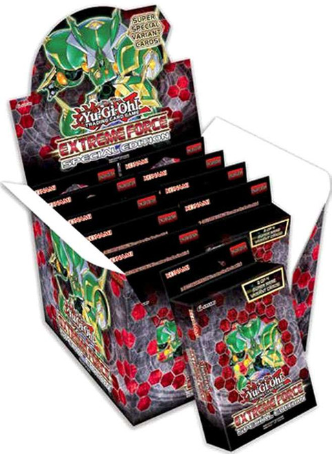 YuGiOh Trading Card Game Extreme Force Special Edition DISPLAY Box [10 Units]