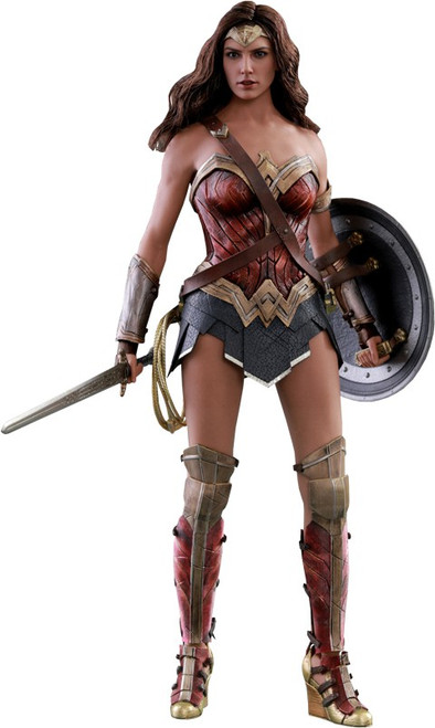 DC Justice League Movie Wonder Woman Collectible Figure [Regular Version]