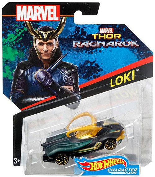 Hot Wheels Thor: Ragnarok Character Cars Loki Diecast Car