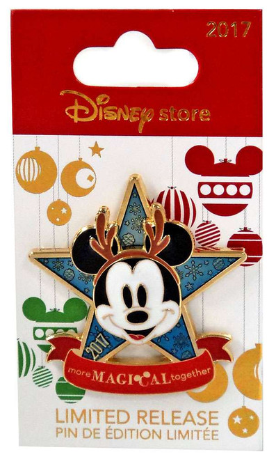 Disney 2017 Holiday Mickey Mouse Exclusive 1.75-Inch Pin