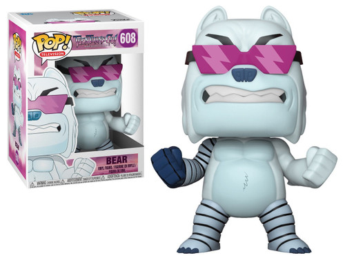 Funko Teen Titans Go! POP! TV Bear Vinyl Figure #608 [The Night Begins to Shine]