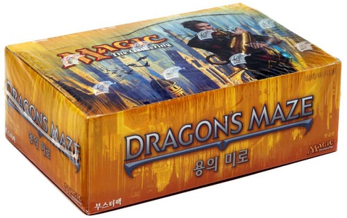 MtG Trading Card Game Dragon's Maze Booster Box [Korean]
