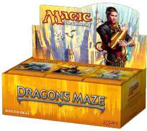 MtG Trading Card Game Dragon's Maze Booster Box [Russian]