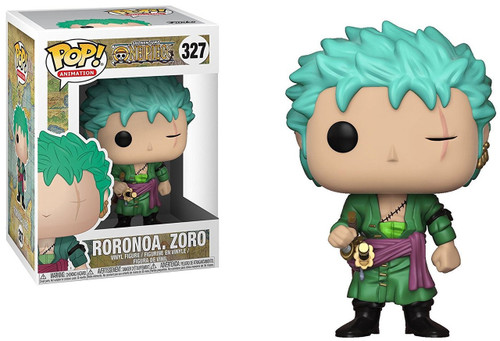 Funko One Piece POP! Anime Roronoa Zoro Vinyl Figure #327