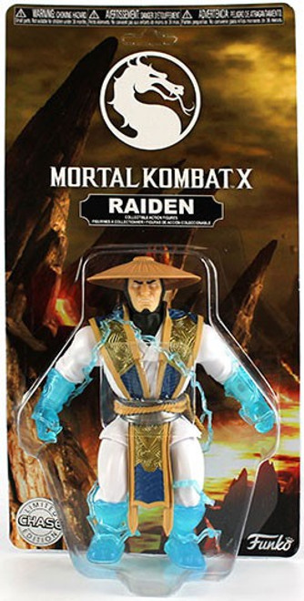 Funko Mortal Kombat X Raiden Action Figure [Clear Hands & Feet, Chase Version]