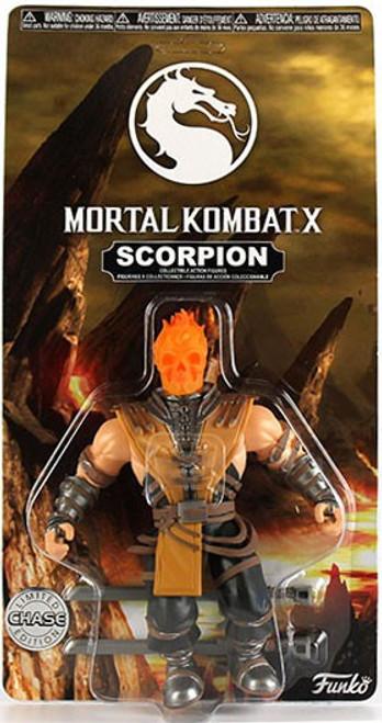 Funko Mortal Kombat X Scorpion Action Figure [Orange Head, Chase Version]