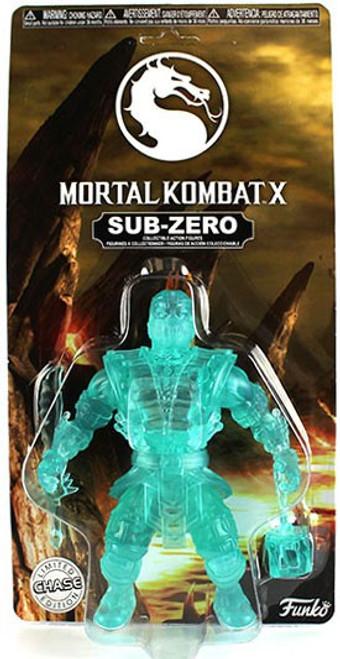 Funko Mortal Kombat X Sub-Zero Action Figure [Clear, Chase Version]