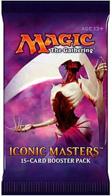 MtG Trading Card Game Iconic Masters Booster Pack [15 Cards]
