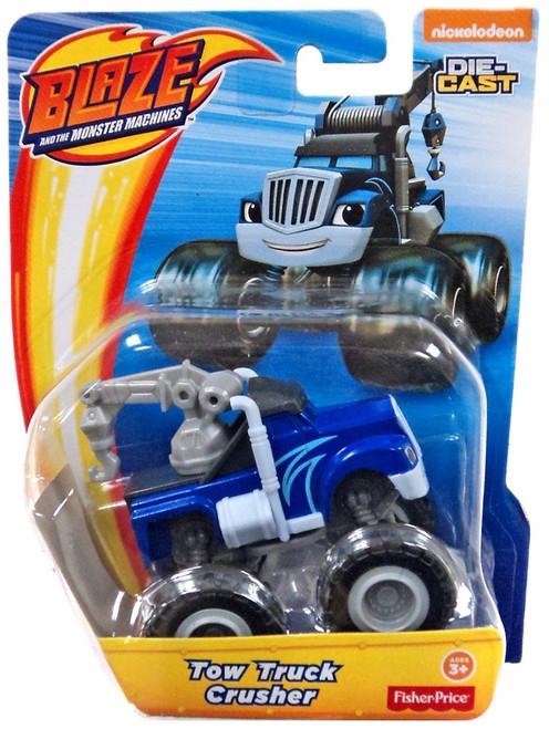 Fisher Price Blaze & the Monster Machines Nickelodeon Tow Truck Crusher Diecast Car
