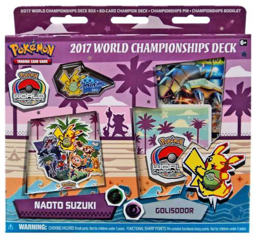 Pokemon Trading Card Game 2017 World Championships Naoto Suzuki Starter Deck [Golisodor]