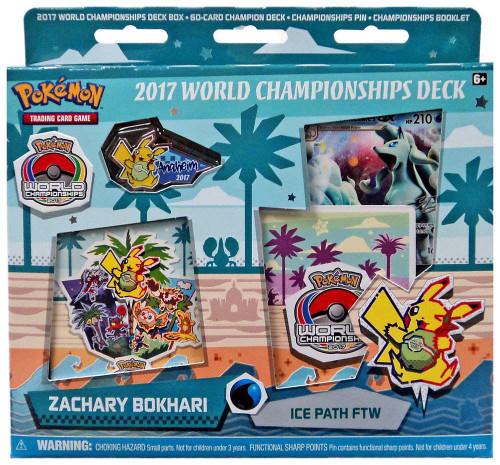Pokemon Trading Card Game 2017 World Championships Zachary Bokhari Starter Deck [Ice Path FTW]