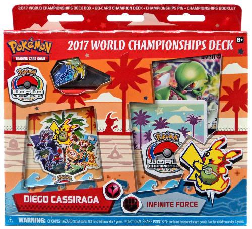 Pokemon Trading Card Game 2017 World Championships Diego Cassiraga Starter Deck [Infinite Force]