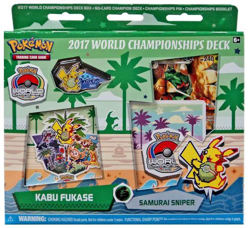 Pokemon Trading Card Game 2017 World Championships Kabu Fukase Starter Deck [Samurai Sniper]