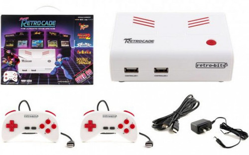 Retro Bit Super Retro-Cade Video Game Console [Over 90 Games!]