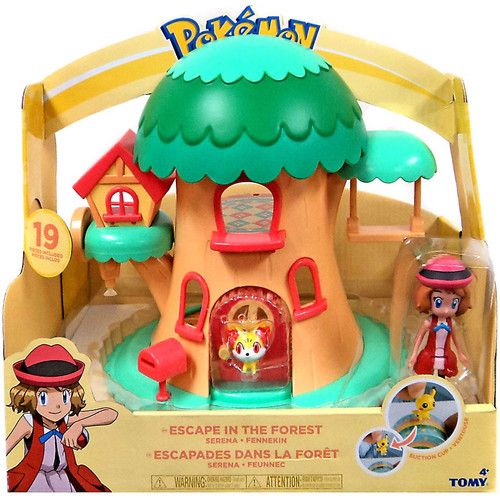 Pokemon Petite Pals Escape in the Forest Playset [Serena & Fennekin]
