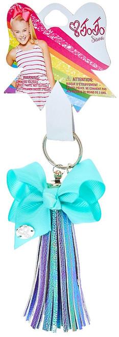 Nickelodeon JoJo Siwa Iridescent Tassel with Mint Bow Keychain