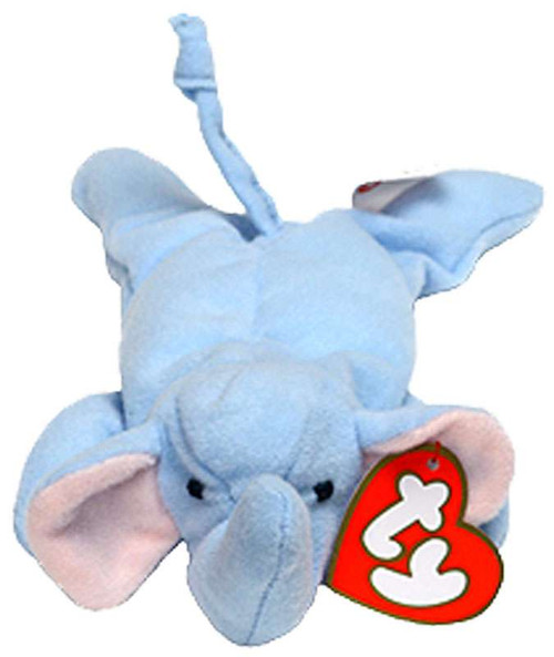 Beanie Babies McDonalds 1998 Peanut the Elephant Teenie Beanie Plush #12