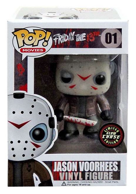 Funko Friday the 13th POP! Movies Jason Voorhees Vinyl Figure #01 [Glow Chase Version]