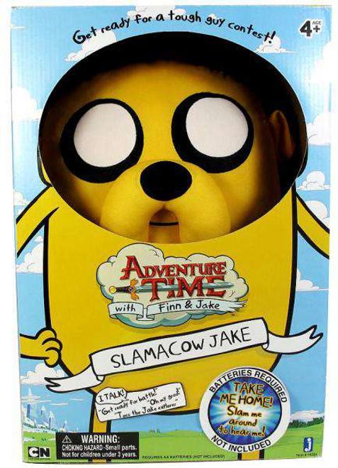 Adventure Time Slamacow Jake 20-Inch Plush [Damaged Package]