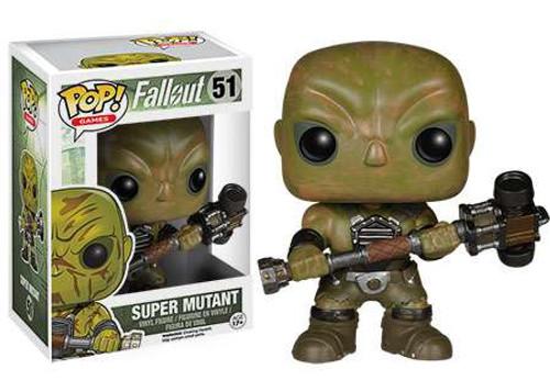 SUPER MUTANT Fallout Funko Mystery Minis Vinyl Figure New Loose
