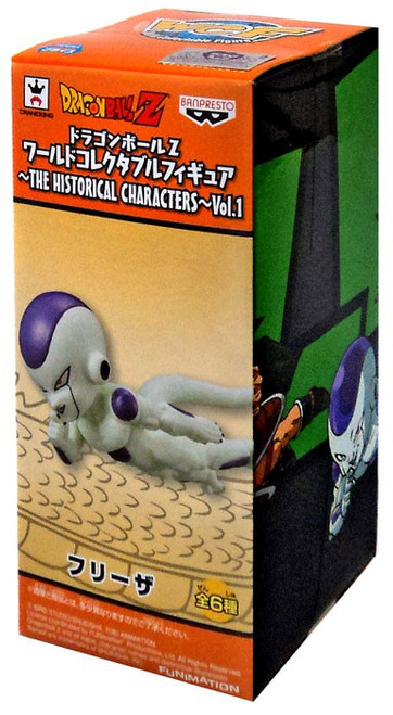 Dragon Ball Z WCF Historical Characters Vol. 1 Frieza 3-Inch Collectible Figure HC05
