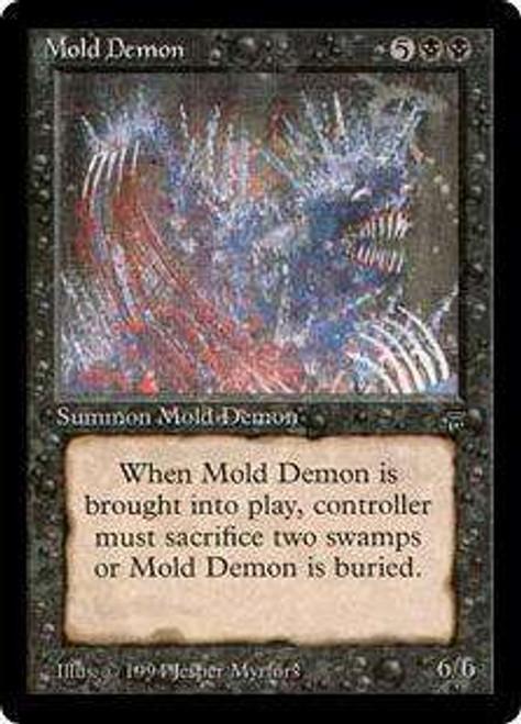 MtG Legends Rare Mold Demon [Slightly Played]