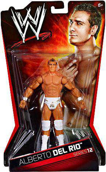 WWE Wrestling Series 12 Alberto Del Rio Action Figure [Damaged Package]