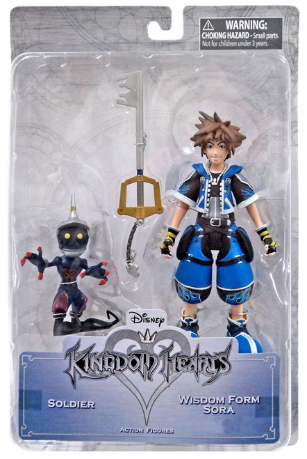 Disney Kingdom Hearts Wisdom Form Sora & Soldier Exclusive Action Figure 2-Pack