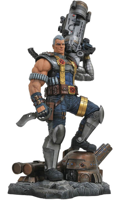 Marvel Premier Collection Cable 12-Inch PVC Figure Statue [Comic Version]