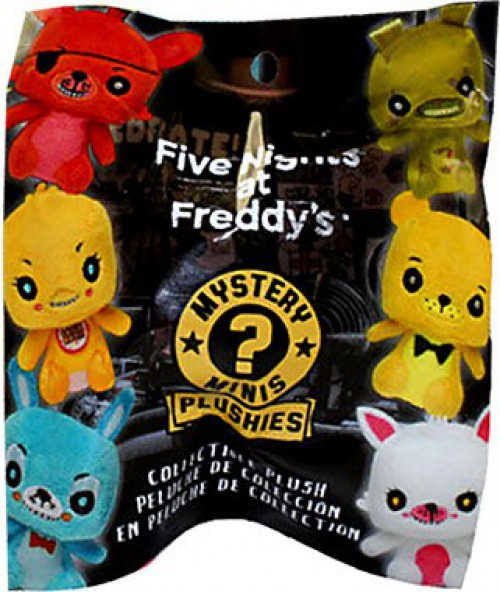 Funko Mystery Minis Plush Keychains Five Nights at Freddy's 2.5-Inch Mystery Pack