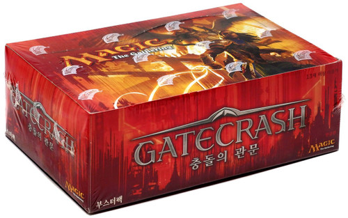 MtG Trading Card Game Gatecrash Booster Box [Korean]