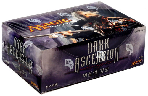 MtG Trading Card Game Dark Ascension Booster Box [Korean]