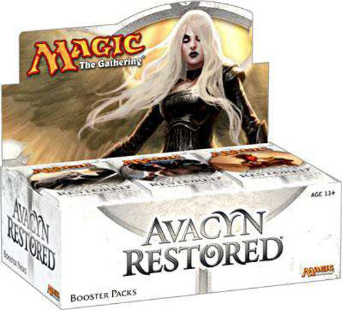 MtG Trading Card Game Avacyn Restored Booster Box [Russian]