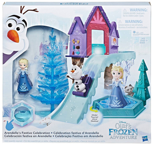 Disney Frozen Olaf's Frozen Adventure Arendelle's Festive Celebration Playset