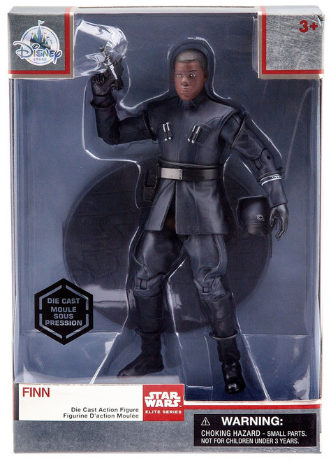 Disney Star Wars The Last Jedi Elite Series Finn Exclusive 6-Inch Diecast Figure