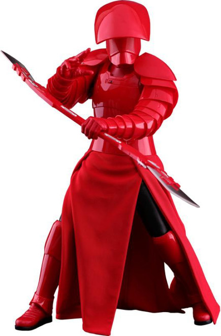 Star Wars The Last Jedi Movie Masterpiece Praetorian Guard Collectible Figure MMS454 [Double Blade]