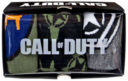 Call of Duty Crew Socks 3-Pack
