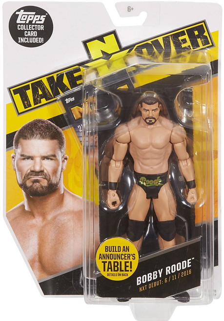 WWE Wrestling NXT Takeover Bobby Roode Exclusive Action Figure