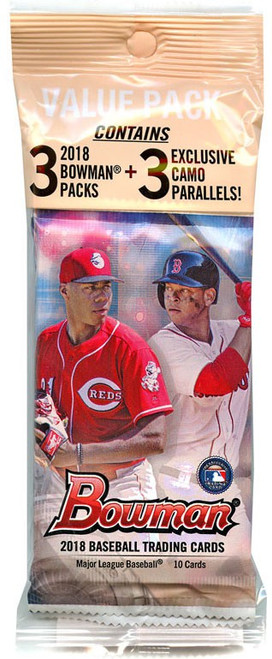 MLB Topps 2018 Bowman Baseball Trading Card VALUE Pack [33 Cards]