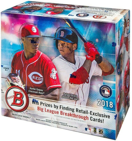 MLB Topps 2018 Bowman Baseball Trading Card RETAIL Box [24 Packs]