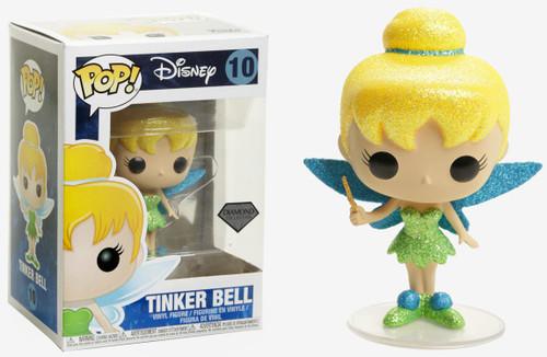 Funko Peter Pan POP! Disney Tinker Bell Exclusive Vinyl Figure #10 [Diamond Collection]