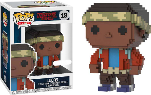 Funko Stranger Things POP! 8-Bit Lucas Exclusive Vinyl Figure #19
