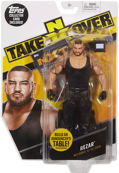 WWE Wrestling NXT Takeover Rezar Exclusive Action Figure