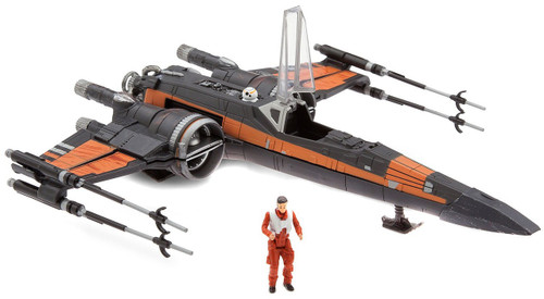 Disney Star Wars The Last Jedi Poe Dameron & X-Wing Fighter Exclusive Action Figure & Vehicle Set