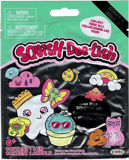 Squish-Dee-Lish Series 2 Mystery Pack